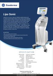 Liposonix Machine weight loss machine