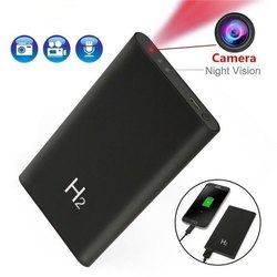Plastic Day & Night Power Bank Spy Camera, For Security, Packaging Type: Box