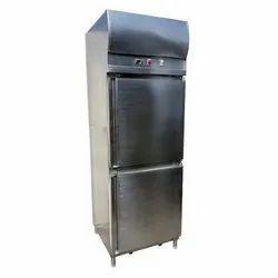 Prince Machinery Stainless Steel Two Door Refrigerator, Capacity: 500 L, Double Door
