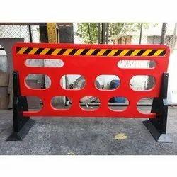 Wintech Plastic, & Metal Police Guard Road Barrier/Barricades