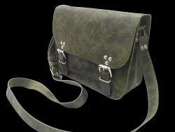 Hunter Leather Saddle Bag
