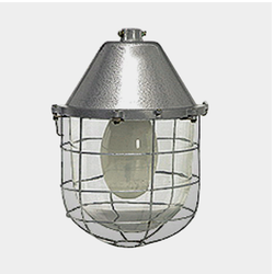 Vertical Integral Well Glass Commercial Luminaires