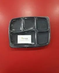 5 Cp Spill Proof Meal Tray