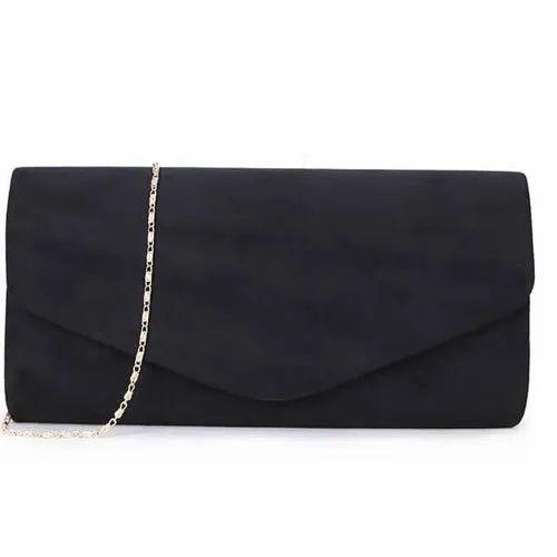 get online top quality limited price Ladies Designer Black Chain Handle Evening Clutch Bag
