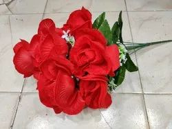Red Home Decoration Artificial Rose Flower