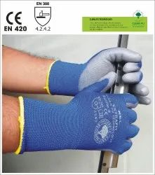 Extrafit Seamless Knitted Polyamide Dipped Gloves