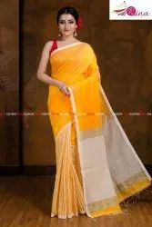 Bengal Handloom Silk Cotton Saree