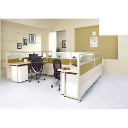 Wood Executive Office Partition