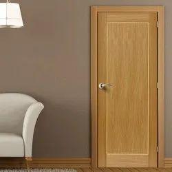 Wood 7 Feet Flush Door, For Home, Wooden