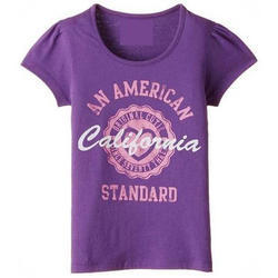 Cotton Girls Half Sleeves T-Shirt