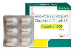 Augmine 1000 - Amoxycillin 875mg plus Clavulanate 125mg