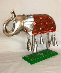 Wooden Iron Embossed Elephant