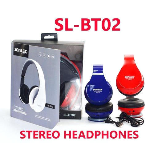 bfa7f666793 With Microphone Sonilex SL BT02 Stereo Headphone, Packaging Type: Box