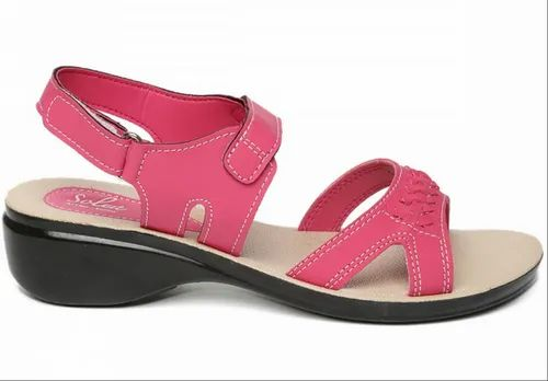 Women Pink Solea Sandals at Rs 319/pair