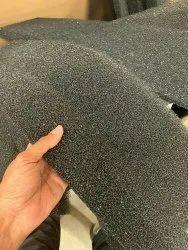 Black Reticulated air Foam Filter, Square
