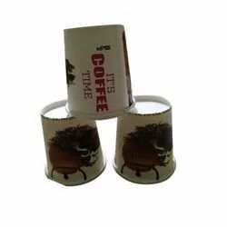 Printed Disposable Paper Coffee Cup, Capacity: Available In 60ml To 250ml
