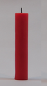 1 Inch Plain Pillar Candle