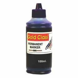 Gold Class 100 ml Blue Permanent Marker Ink