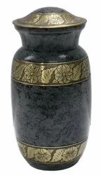 Human ashes cremation urn