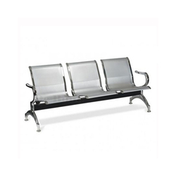 3 Seater Stainless Steel Waiting Area Chairs