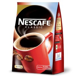Dark Brown Nescafe Classic Instant Coffee Powder (500 Gm)