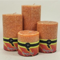 Orange Peel Candles