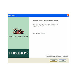 Tally ERP 9 Installation Services