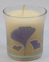 Printed Glass Jar Candles
