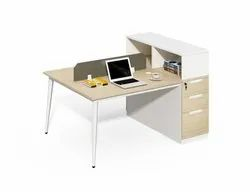 Modular Office Furniture Workstation I Open Modular Office Cubicle Workstation For two seat