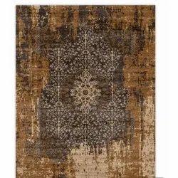 Rectangular Hand Tufted Silk Carpet, Size: 5 X 8 feet