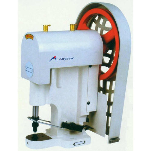 Fabric Roll Cutting Machines Snap Button Rivet Attaching