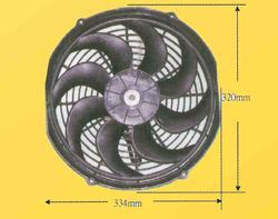 Cooling Fan For Truck Mixer