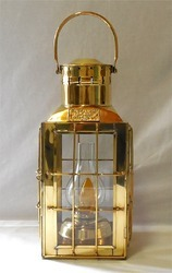 Vintage Nautical Brass Design Ship Lantern