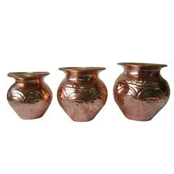 Copper Nakshi Kalshi