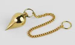 Brass Spiral Pendulum