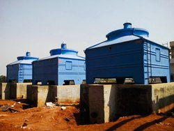 Induced Draft Square Counter Flow Type FRP Cooling Tower