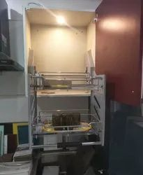 Param 600mm Pull Down Basket SS Wire for Hotel/Restaurant