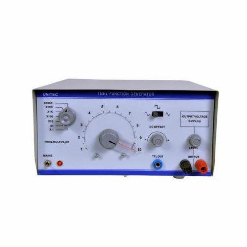 Function Generator 1 MHz, फंक्शन जनरेटर in New Delhi , Mannu Enterprises |  ID: 17927589897