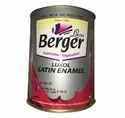 Oil Based Paint Oil Based Protective Covering Berger Luxol Satin Enamel, For Interiors & Exteriors, Packaging Type: Bucket