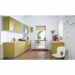 Rectangular Plywood Kitchen Cabinet
