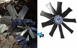 Aluminum Impeller 8 Blade Dia 1600 mm