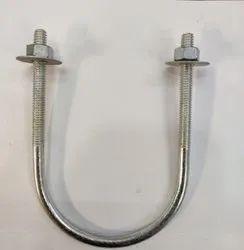 2 Mild Steel U Bolt, for Industrial