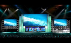 Stage LED Video Background Wall For Concert /Wedding
