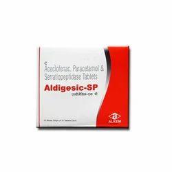 Aceclofenac Paracetamol And Serratiopeptidase