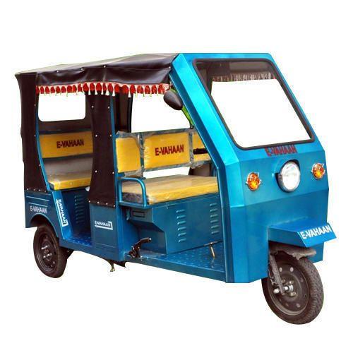 E-Vahaan Battery Operated Passenger E Rickshaw, Warranty: 12 Month