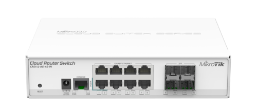 Cloudrouter Switches Crs112 8g4s In Cloud Router Switch