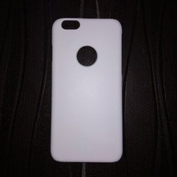 Polycarbonate White Android Mobile Sublimation Back Cover