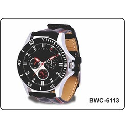 Men Round BWC-6113 Me Wrist Watch, For Daily