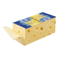 1 kg Heinrichsthaler Emmental Block Cheese, Packaging: Box