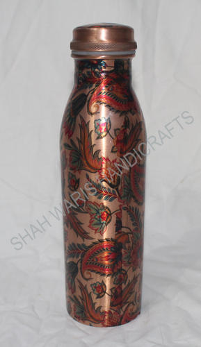 Joint Free Printed Copper Bottle